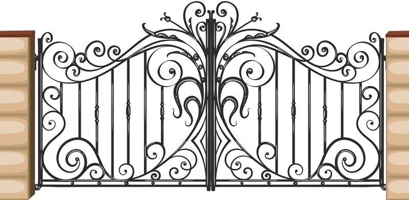 112 Mẫu cửa cổng hàng rào sắt mỹ thuật đẹp giá rẻ đầy tính nghệ thuật