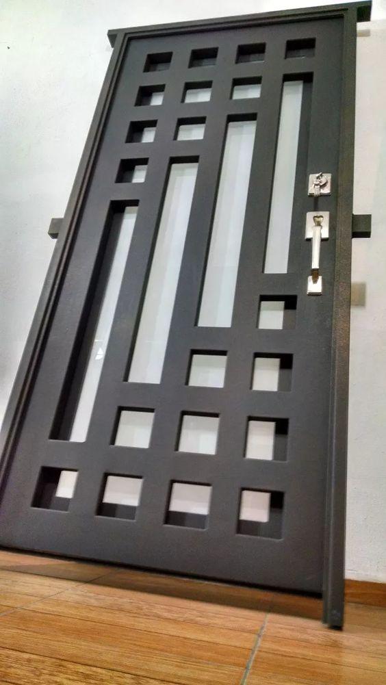 118 mẫu cửa sắt 2 cánh 4 cánh đơn giản đẹp giá rẻ năm 2018