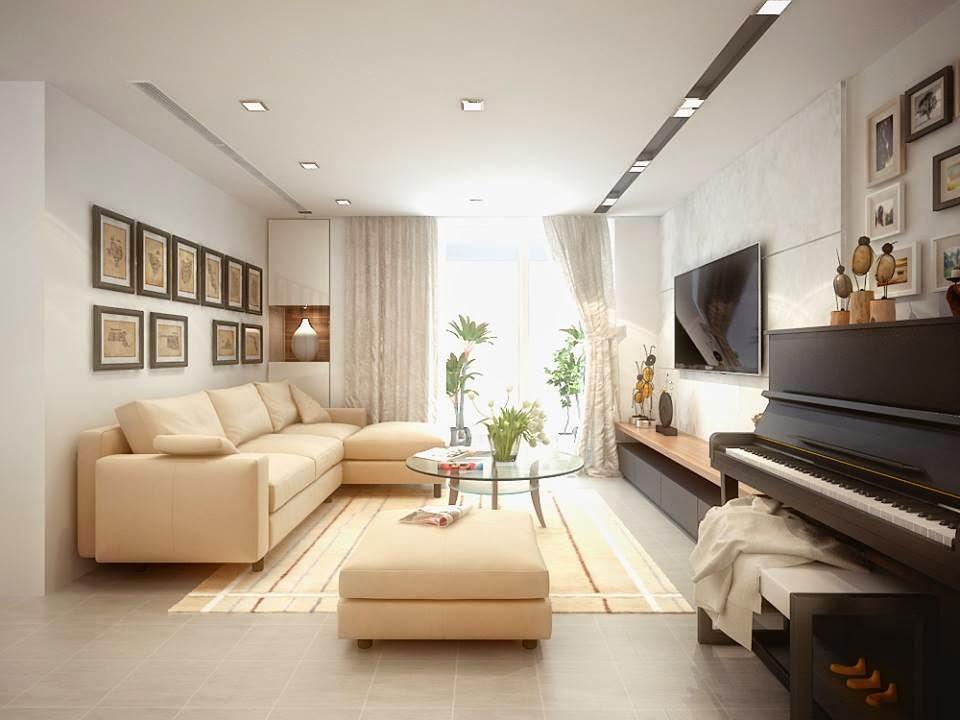 Phòng khách chung cư giá rẻ