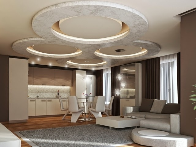 83 mẫu trần thạch cao đẹp năm 2018 thiết kế sáng tạo