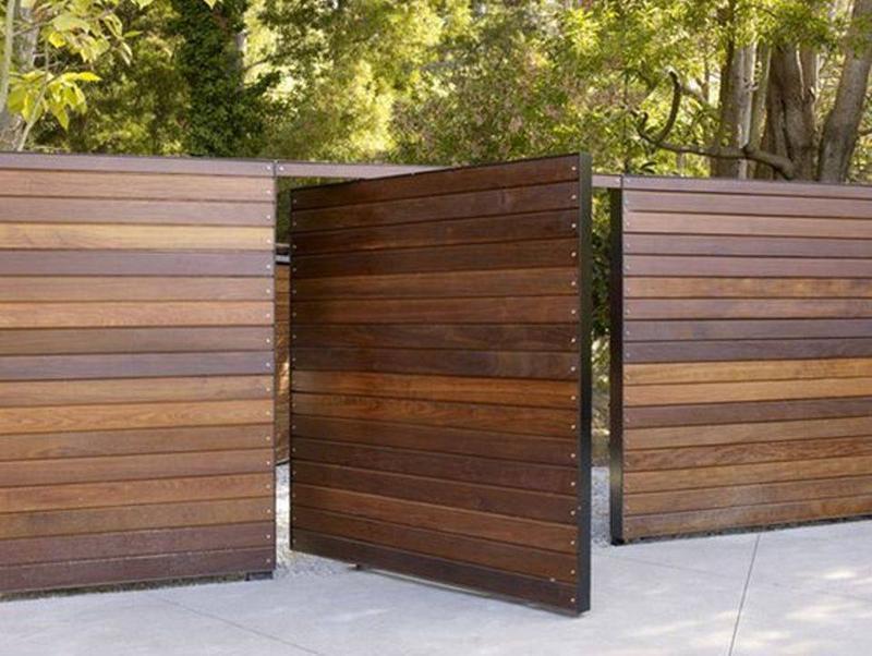 Bộ sưu tập 235 mẫu hàng rào đẹp 2017