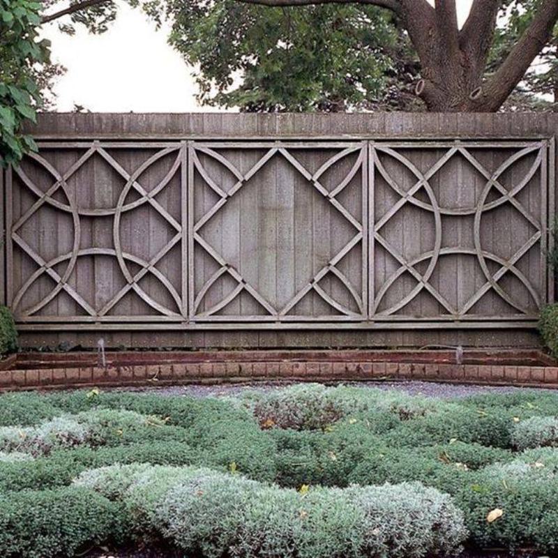 Bộ sưu tập 235 mẫu hàng rào đẹp- Phần 1
