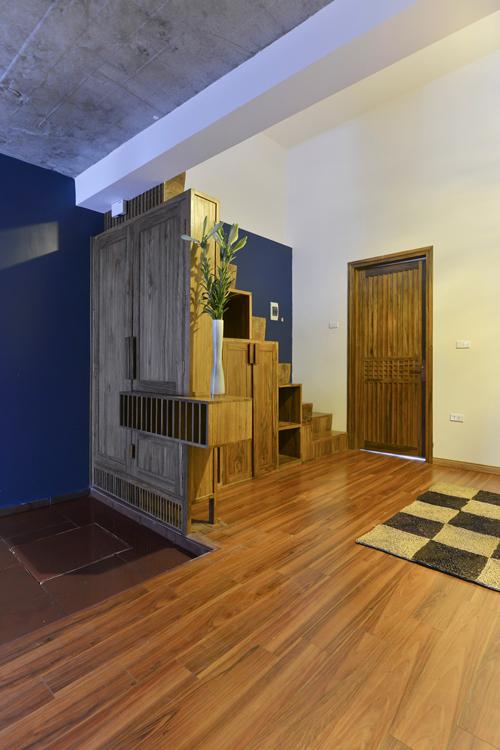 Cải tạo nhà cấp 4 cũ thành biệt thự 2 tầng