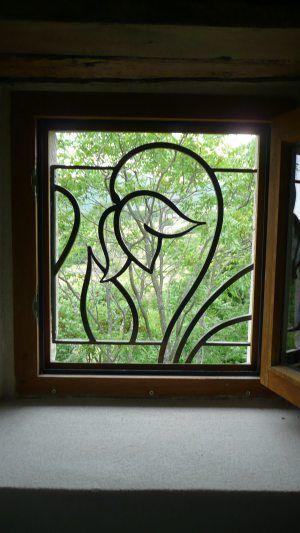 hoa sắt cửa sổ thiết kế đơn giản