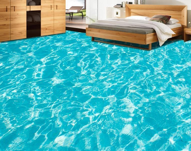 Kết quả hình ảnh cho gạch lát nền phòng ngủ màu xanh
